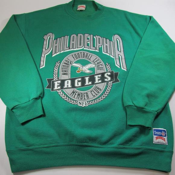 pretty nice 78374 9d822 NUTMEG VINTAGE NFL Philadelphia Eagles Mens XL